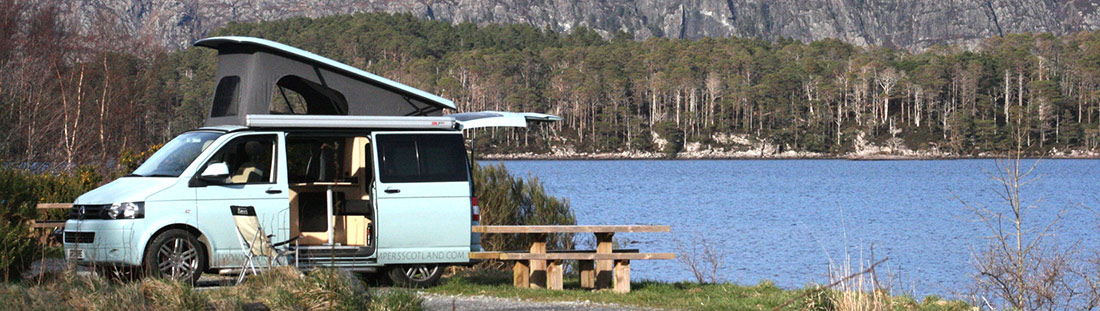 Our rates - campervan hire - Glasgow, inverness, Mull ...